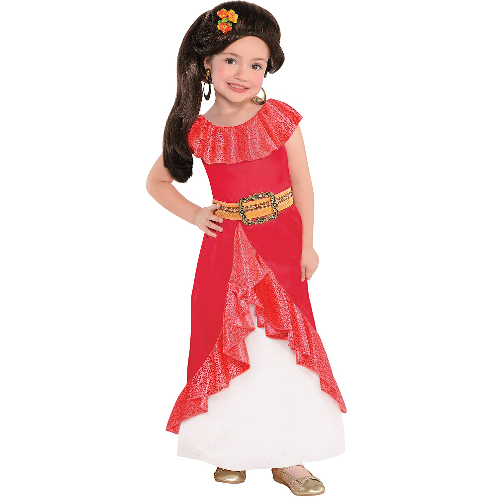 Nav Item for Girls Elena of Avalor Costume Image #1