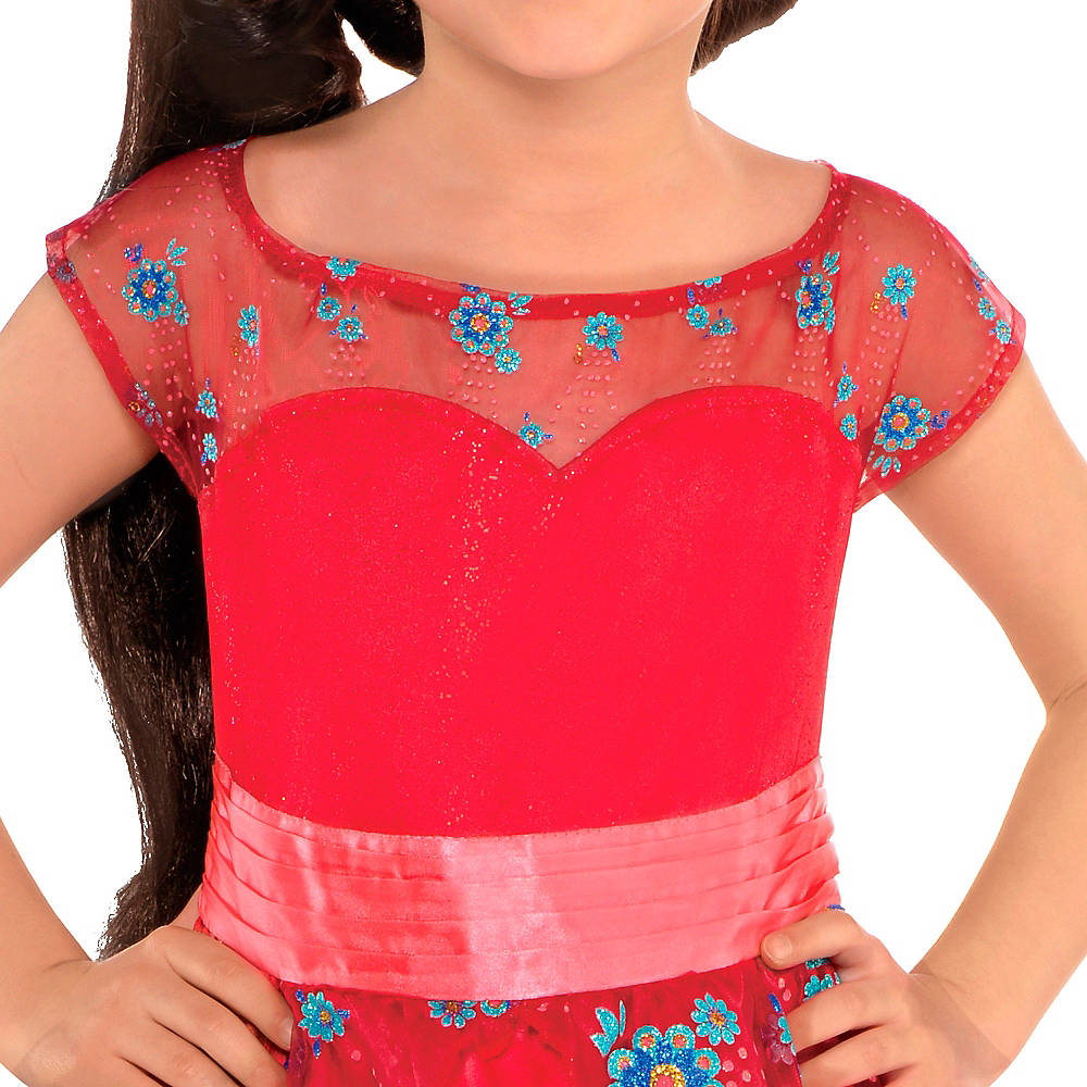 Girls Elena of Avalor Ball Gown Costume Image #2