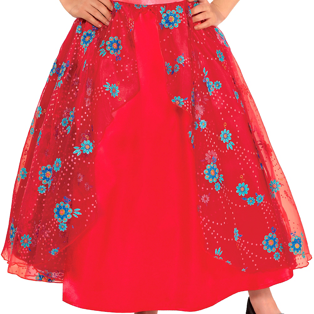 Nav Item for Girls Elena of Avalor Ball Gown Costume Image #3