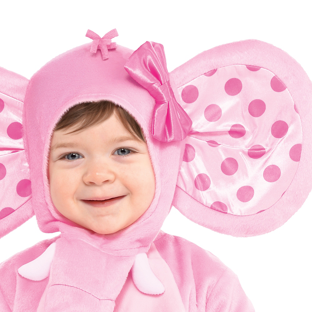 Nav Item for Baby Pink Elephant Costume Image #2