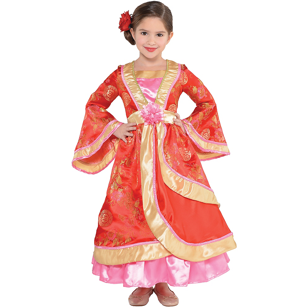 Nav Item for Girls Geisha Costume Image #1