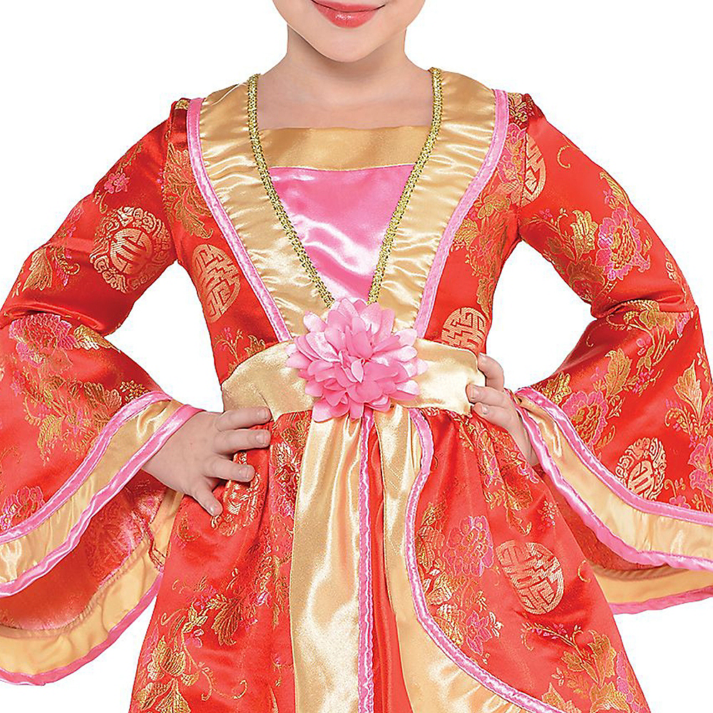 Nav Item for Girls Geisha Costume Image #2