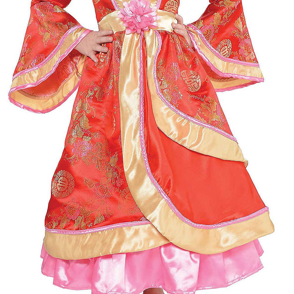 Nav Item for Girls Geisha Costume Image #3