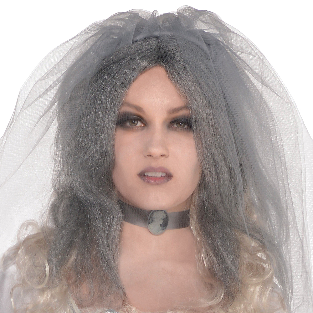 Adult Ghost Bride Costume Image #2