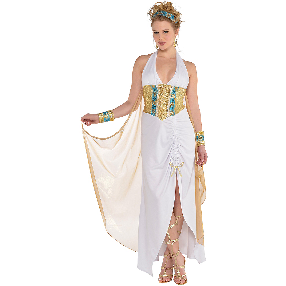Nav Item for Adult Athena Goddess Costume Image #1