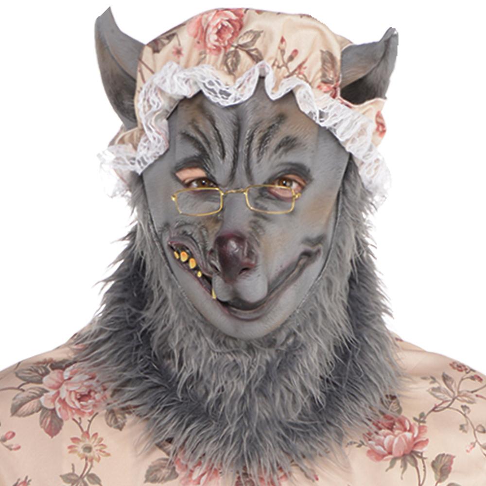 Adult Grandma Wolf Costume Plus Size Image #2
