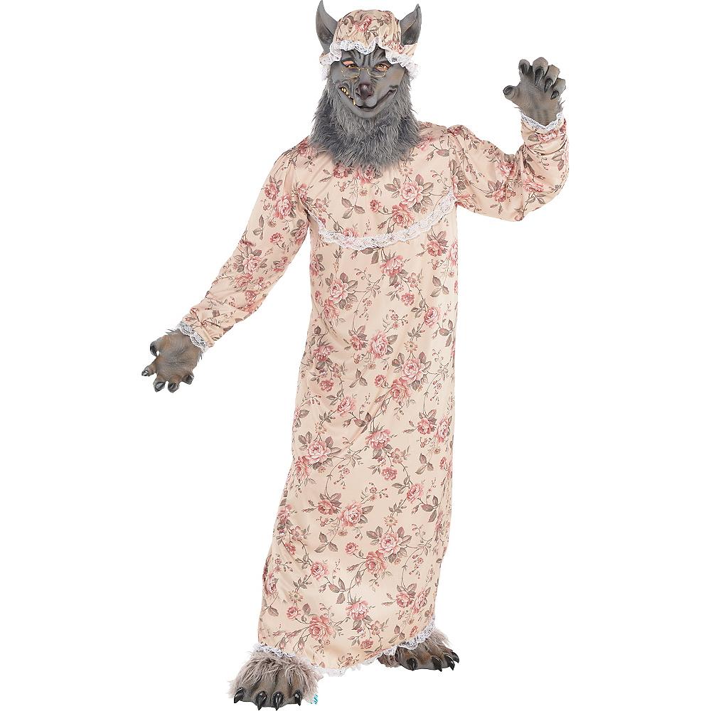 Adult Grandma Wolf Costume Image #1
