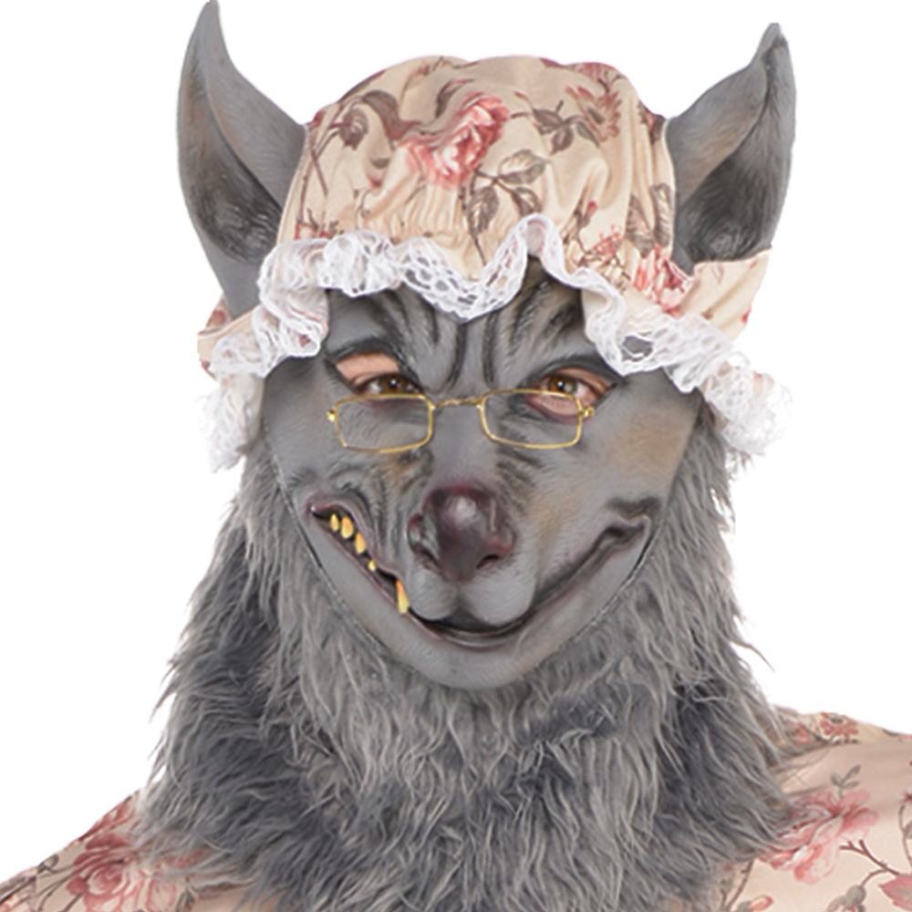 Nav Item for Adult Grandma Wolf Costume Image #2