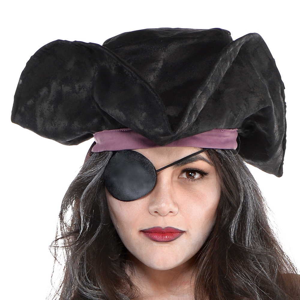 Nav Item for Adult Haunted Pirate Costume Plus Size Image #2