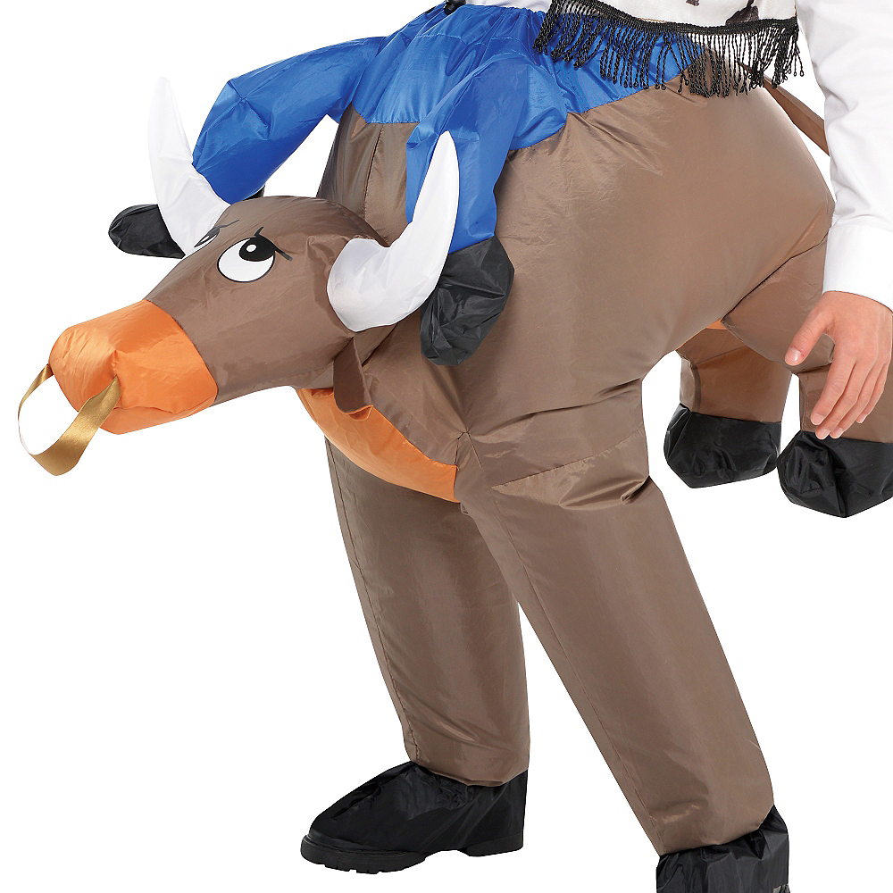 Child Inflatable Bull Ride On Costume Image #2