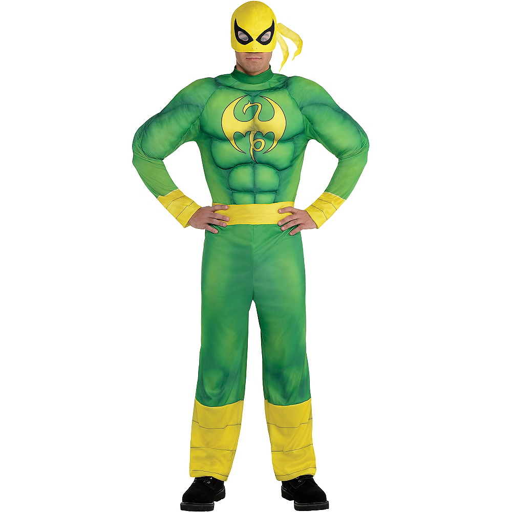 Adult Iron Fist Muscle Costume Image #1