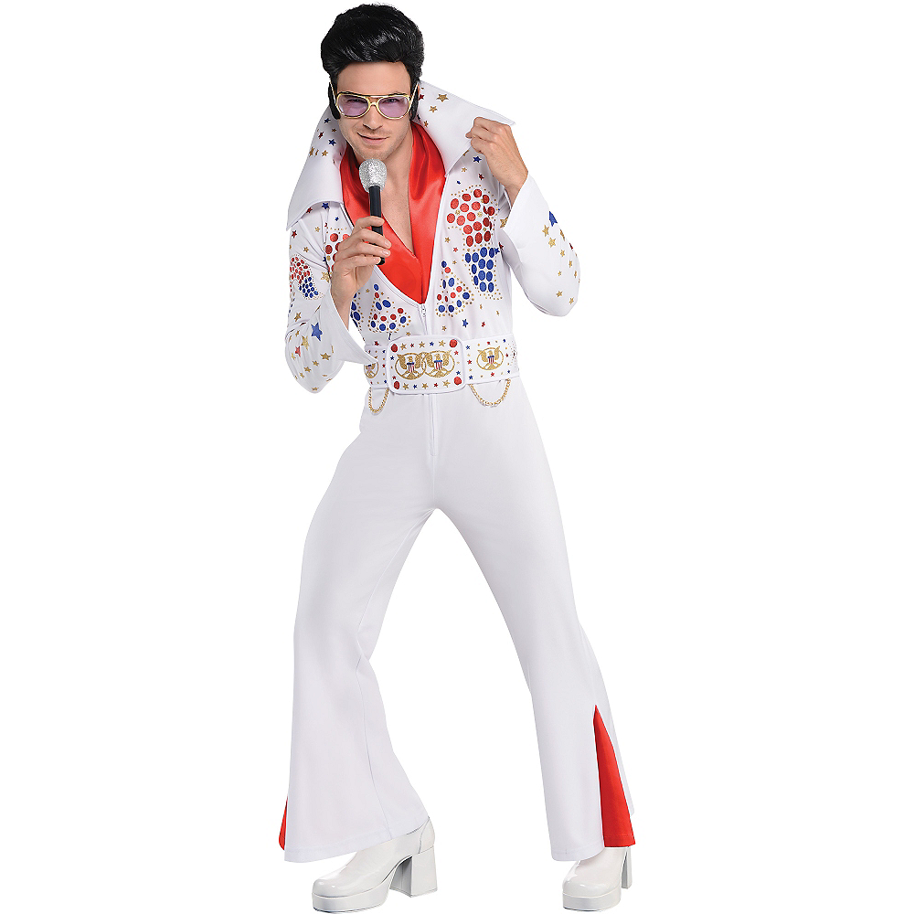 Adult King of Rock 'n' Roll Costume Image #1