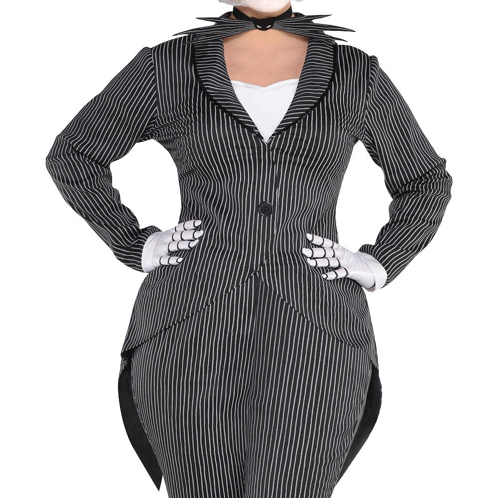 Adult Lady Jack Skellington Costume Plus Size - The Nightmare Before Christmas Image #3