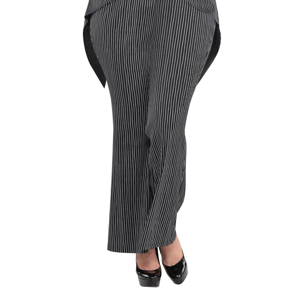 Adult Lady Jack Skellington Costume Plus Size - The Nightmare Before Christmas Image #4