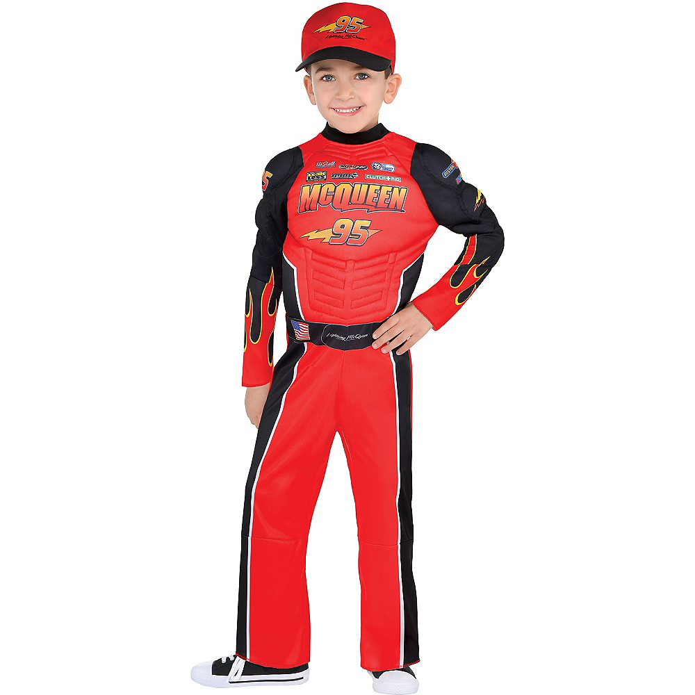 Nav Item for Boys Lightning McQueen Costume - Cars Image #1