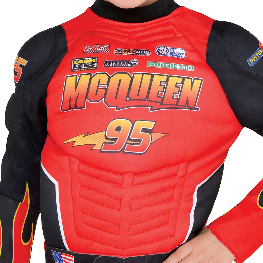 Boys Lightning McQueen Costume - Cars Image #3