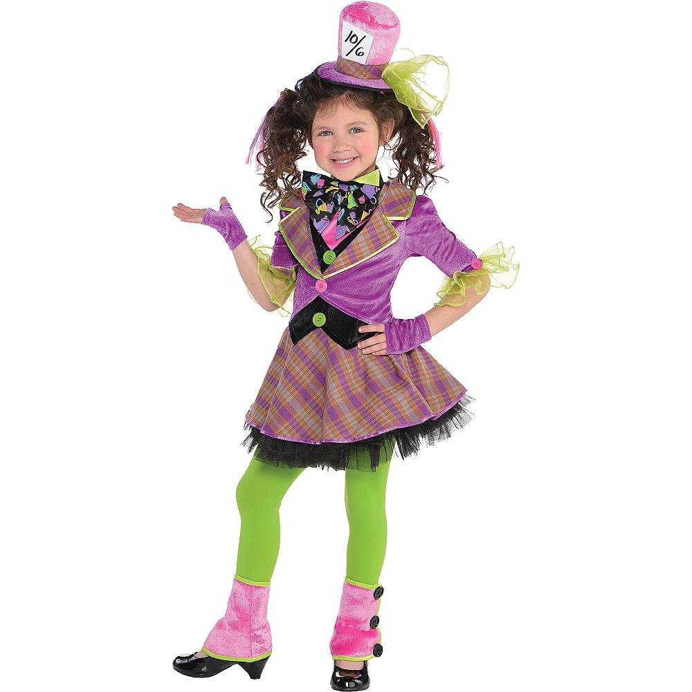Toddler Girls Mad Hatter Costume Image #1