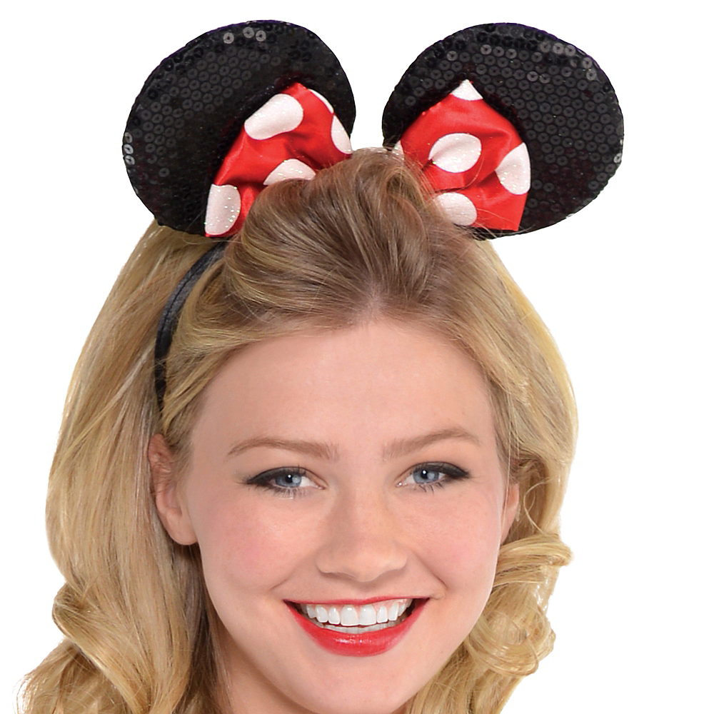 Nav Item for Adult Sassy Minnie Mouse Costume Image #2