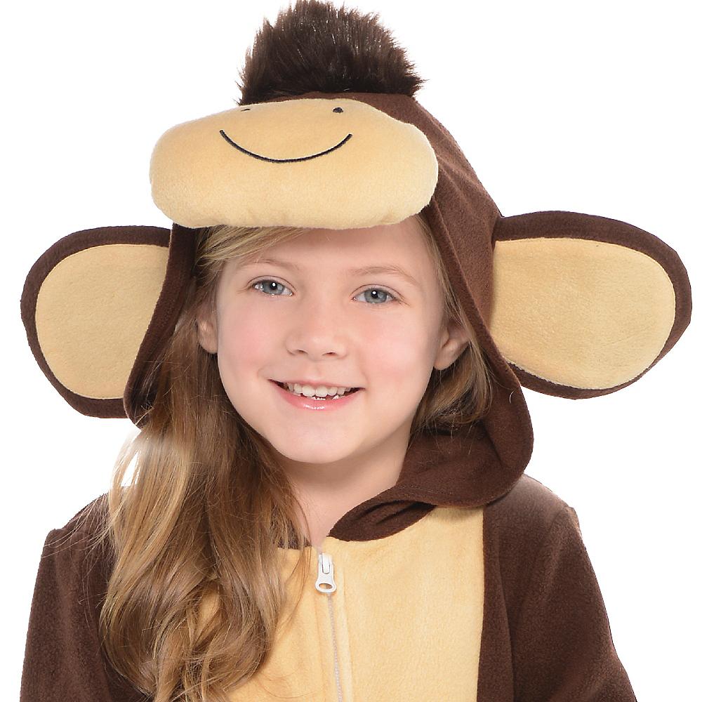 Toddler Zipster Monkey One Piece Costume Image #2