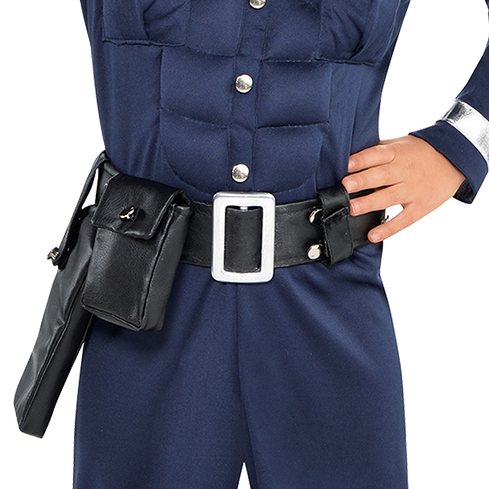 Toddler Boys Cop Muscle Costume Image #3