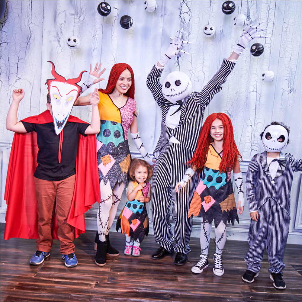 Girls Sally Costume - The Nightmare Before Christmas Image #2