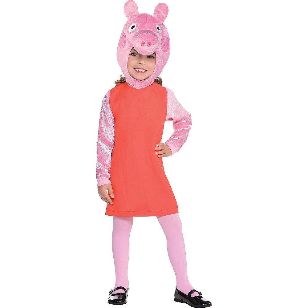 Girls Peppa Pig Costume Image #1