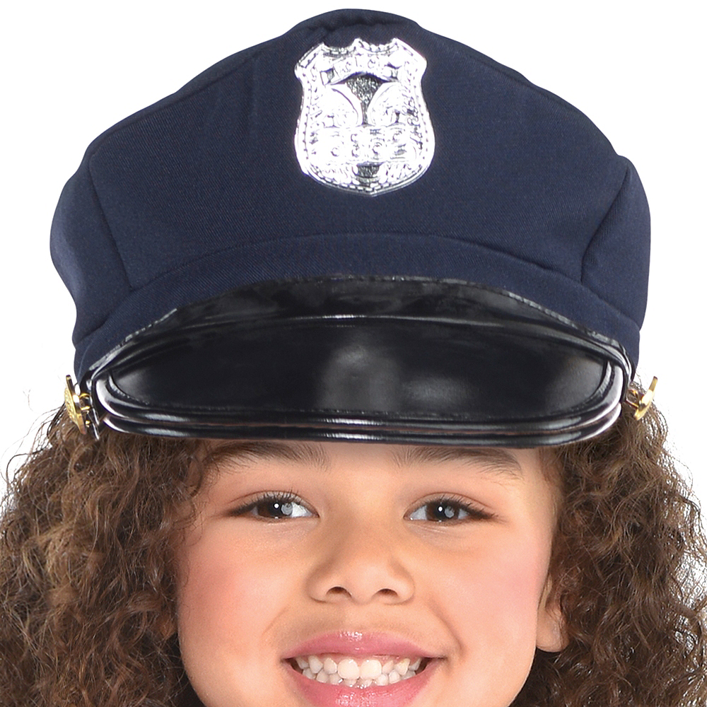 Nav Item for Girls Classic Police Officer Costume Image #2