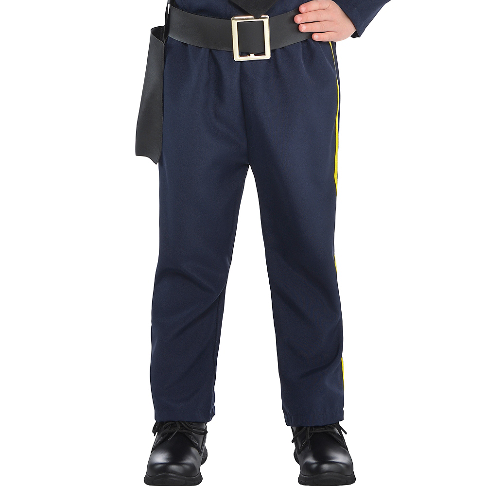 Nav Item for Girls Classic Police Officer Costume Image #4
