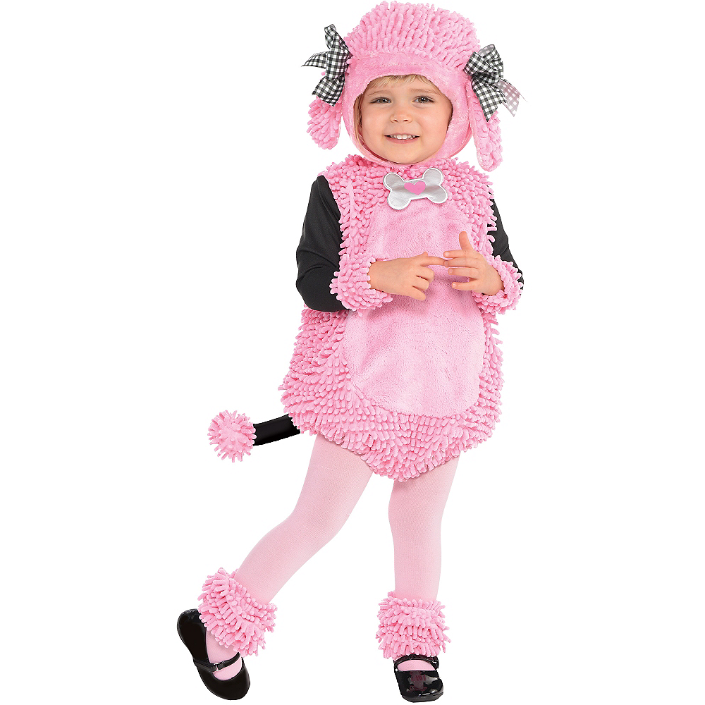 Nav Item for Baby Pink Poodle Costume Image #1