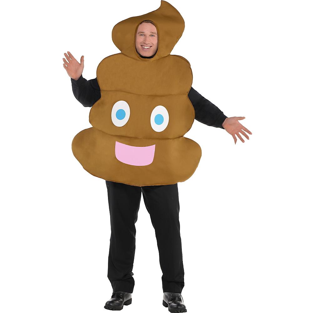 Adult Poop Icon Costume Plus Size Image #1