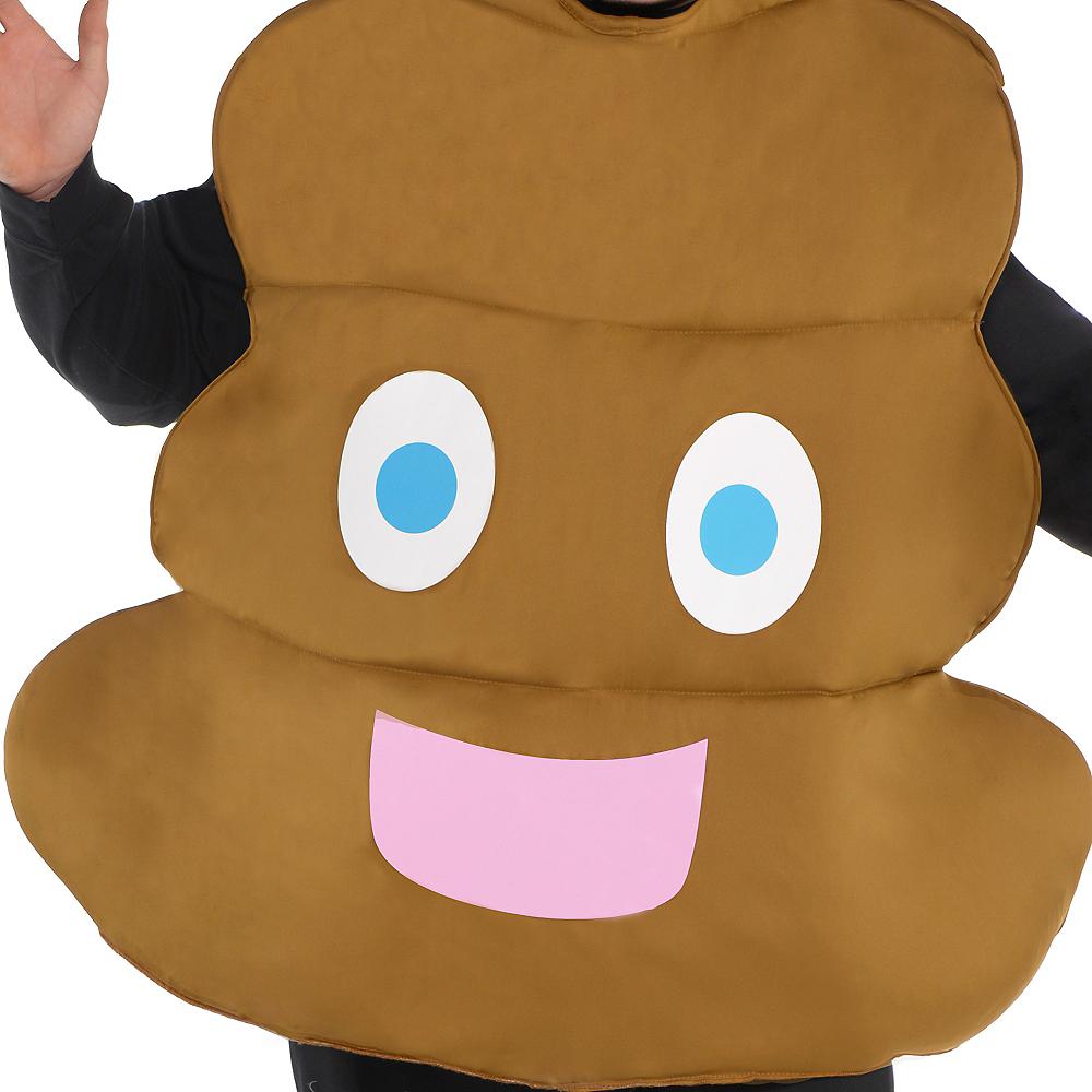 Adult Poop Icon Costume Plus Size Image #2