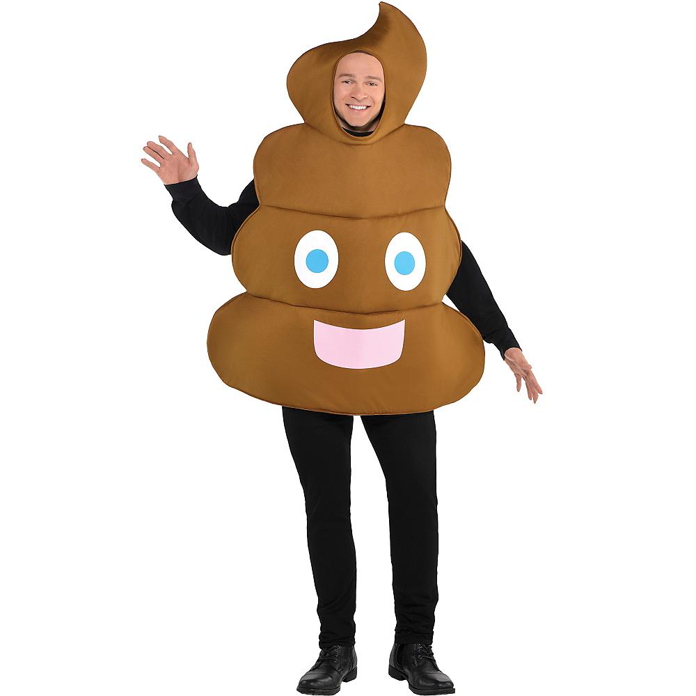 Adult Poop Icon Costume Image #1