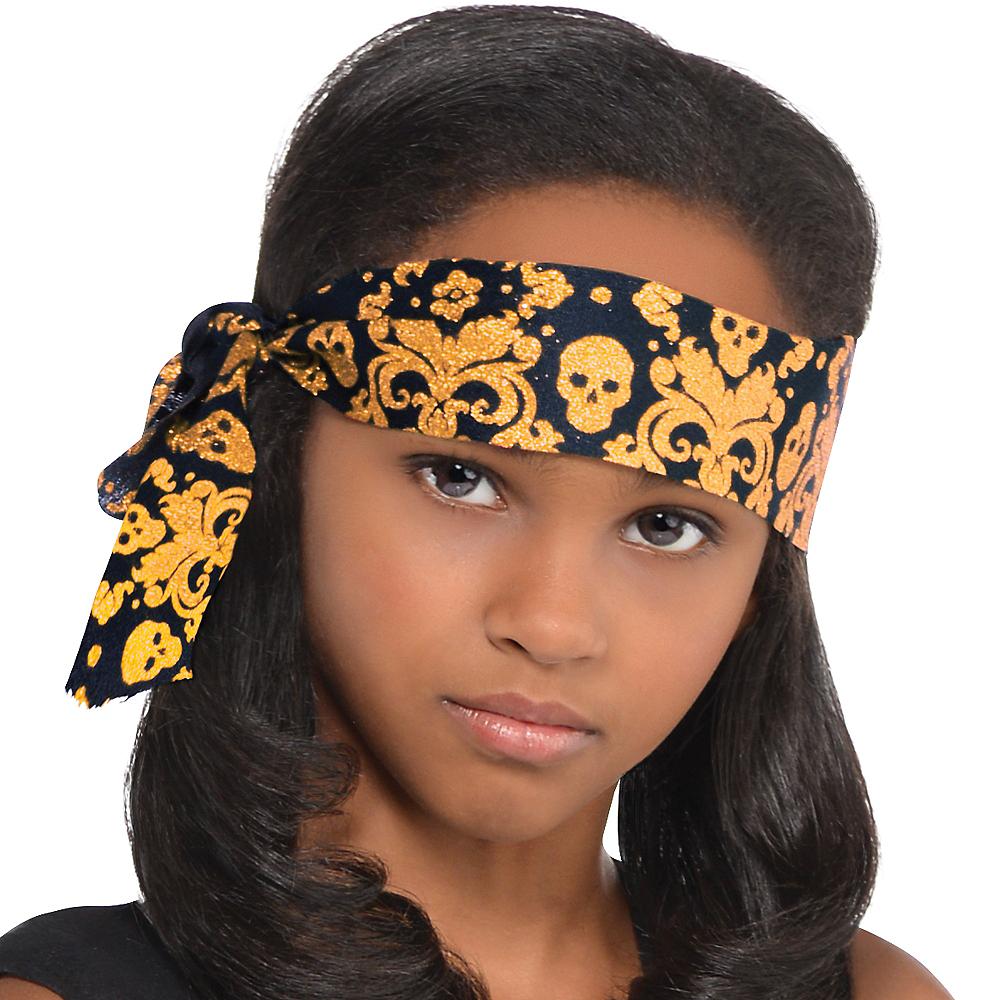 Girls Pretty Scoundrel Pirate Costume Image #3