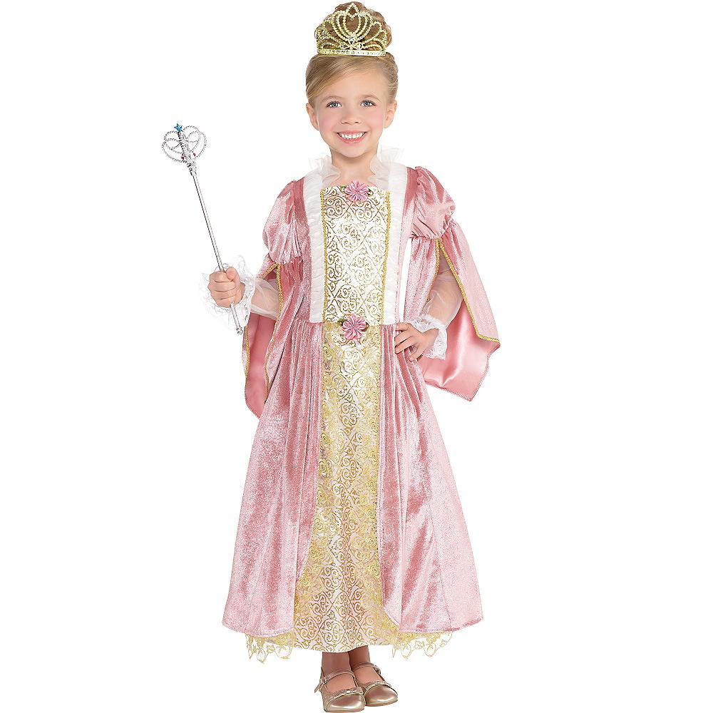Girls Princess Rose Costume Image #1