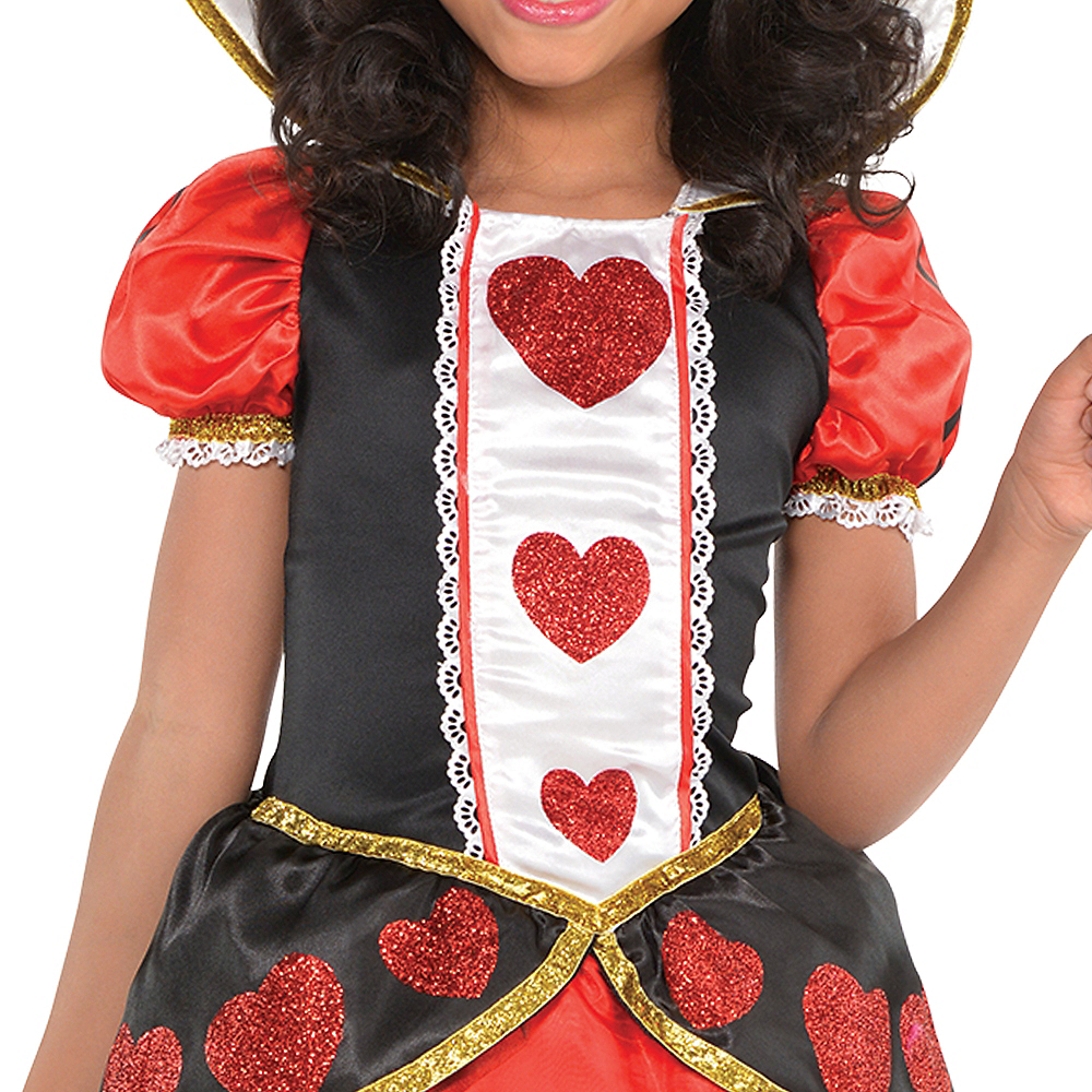 Girls Queen of Hearts Costume Image #3