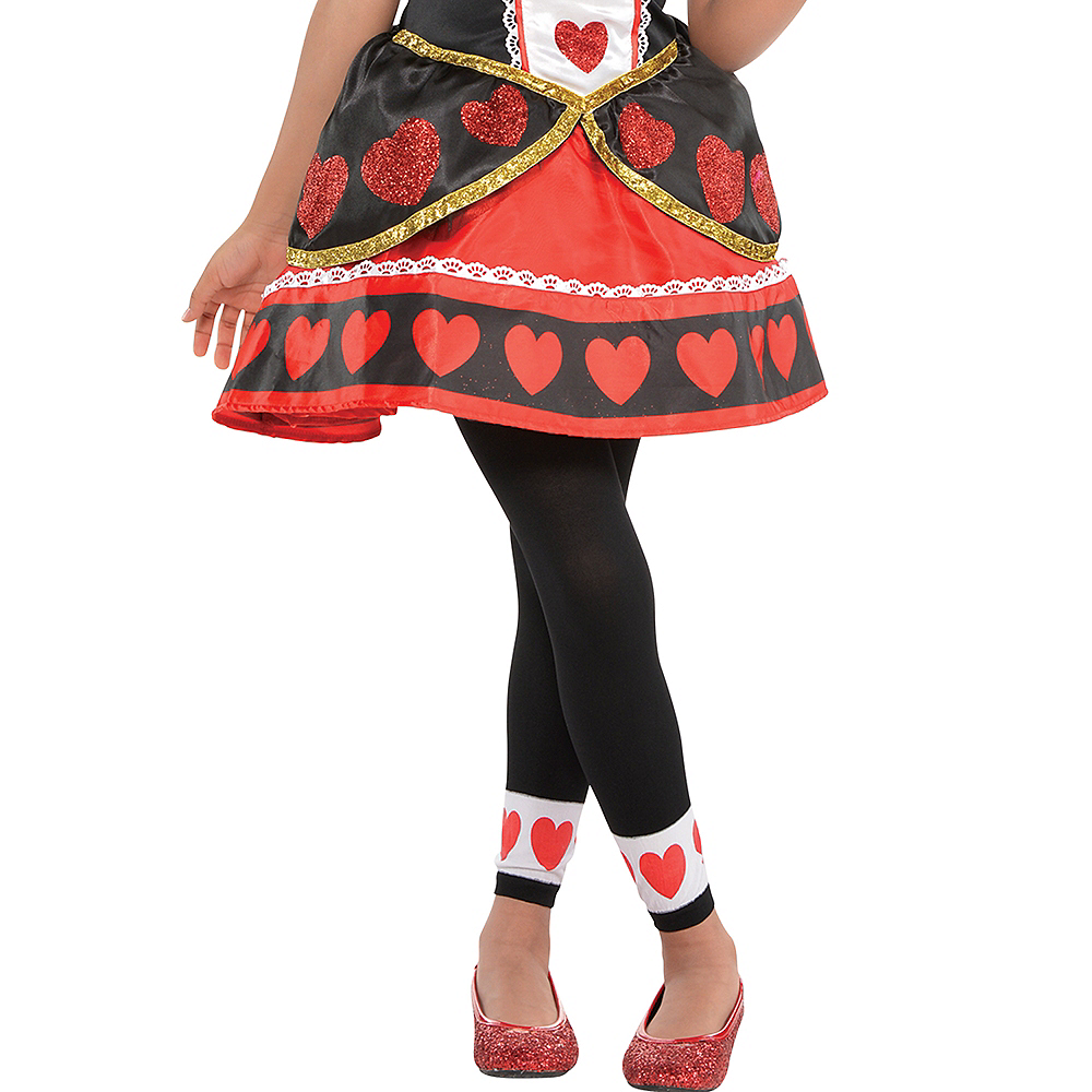 Girls Queen of Hearts Costume Image #4