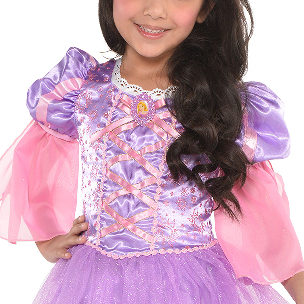 Girls Rapunzel Costume - Tangled Image #2