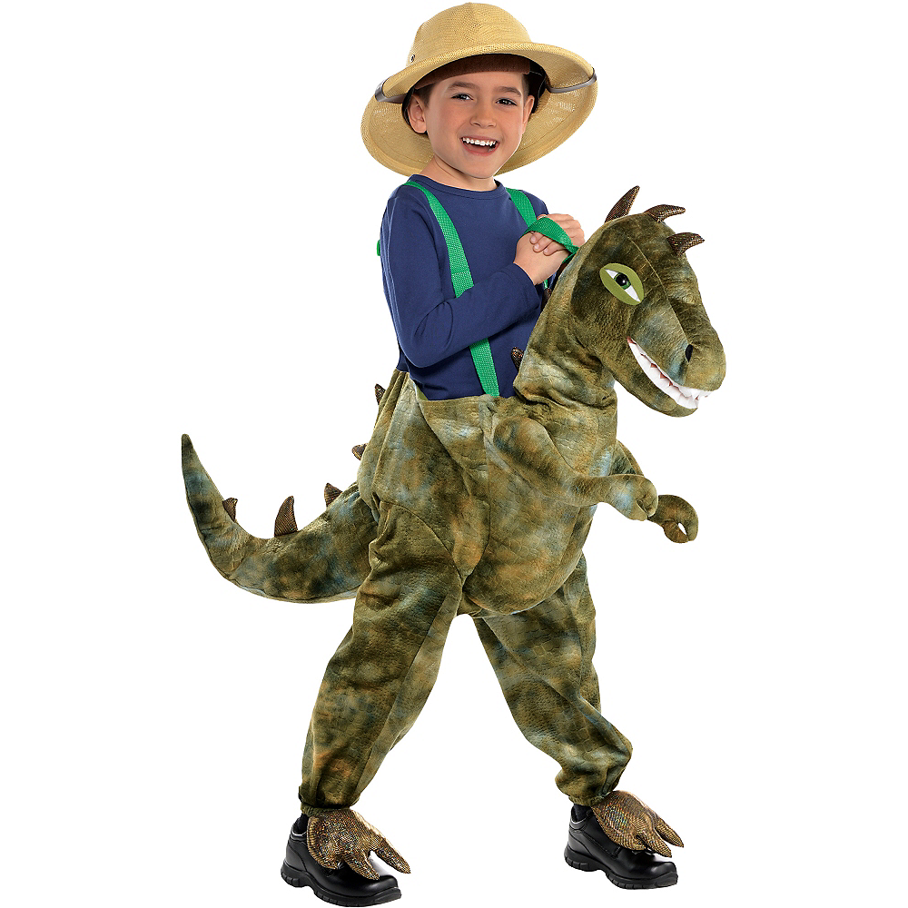 Child Dinosaur Ride-On Costume Image #1