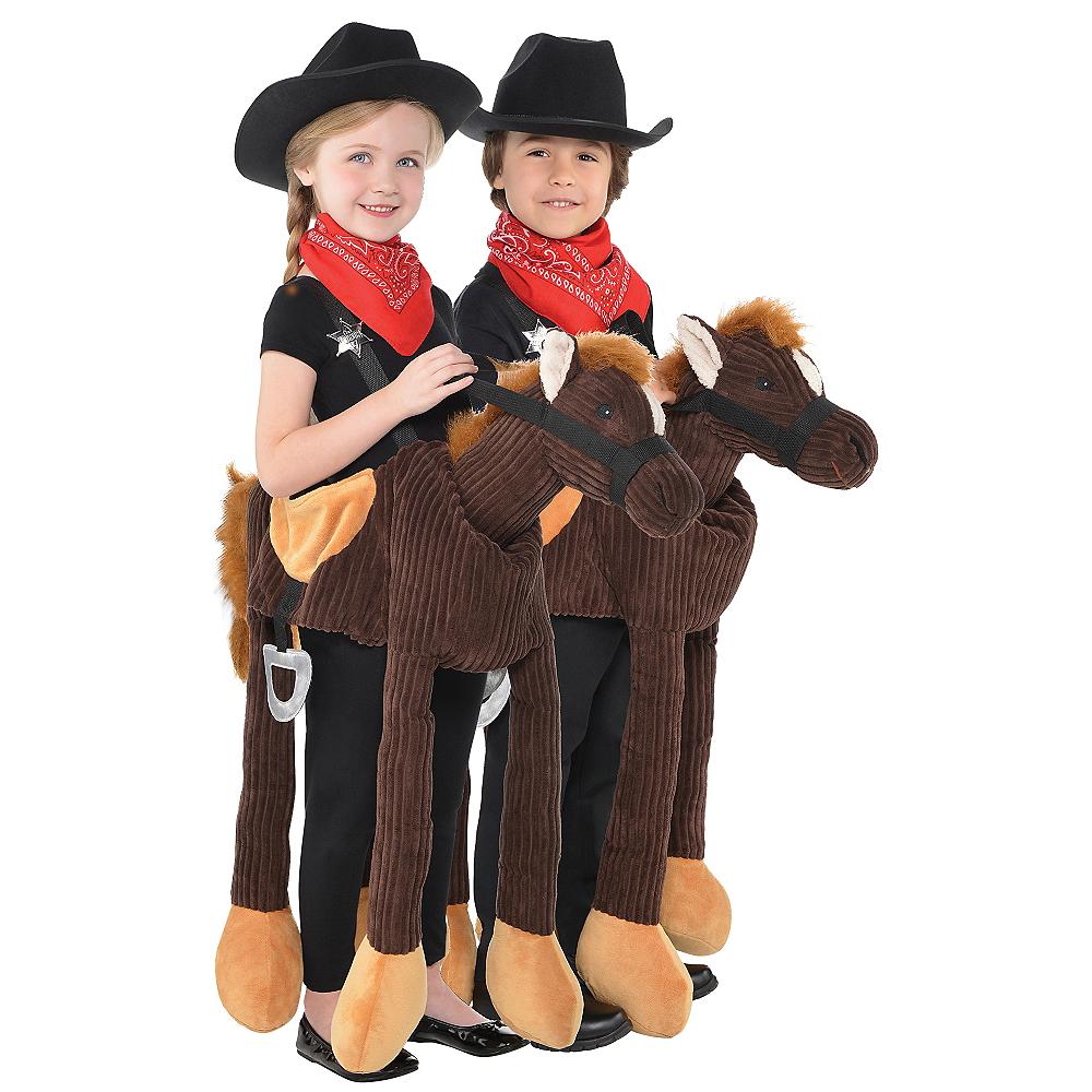Child Pony Ride-On Costume Image #1