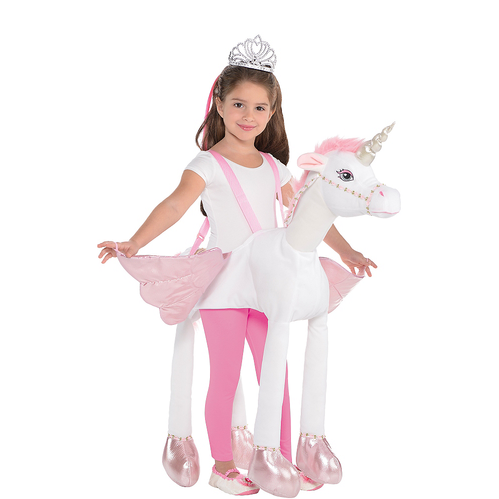 Child Unicorn Ride-On Costume Image #1