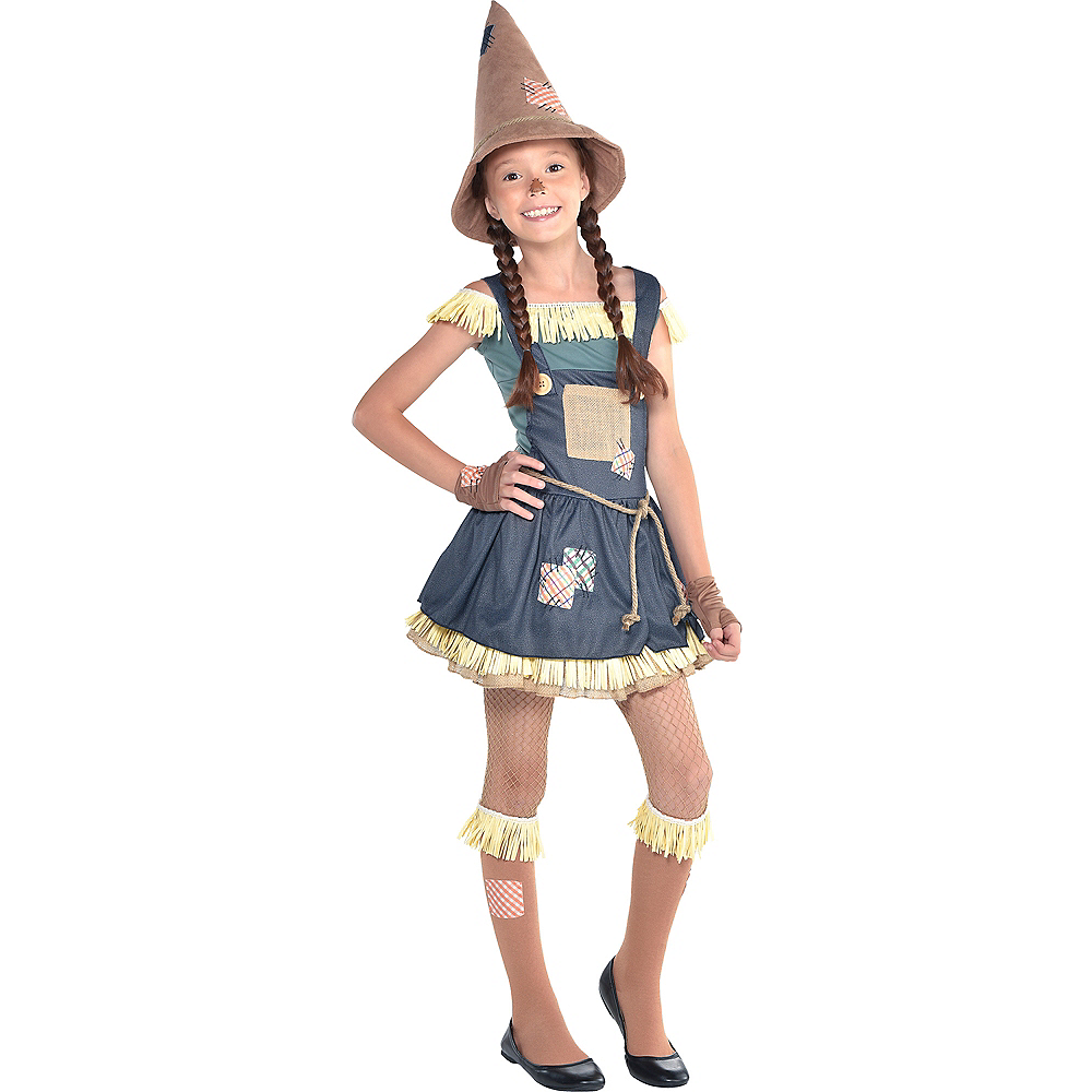 girls scarecrow costume the wizard of oz