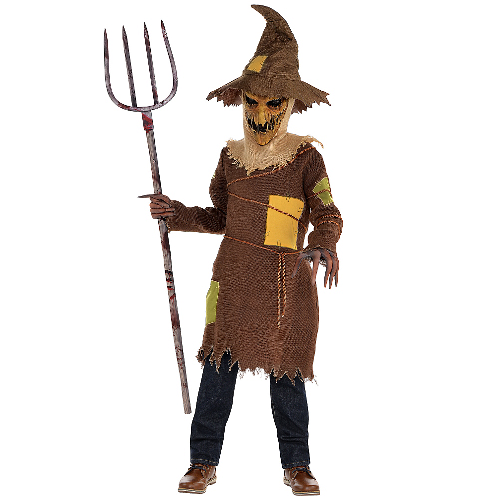 Boys Scary Scarecrow Costume Image #1