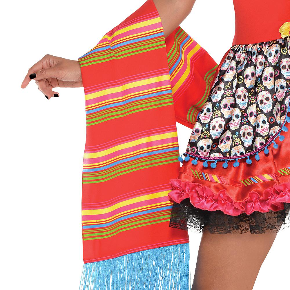 Adult Senorita Sugar Skull Costume Image #2