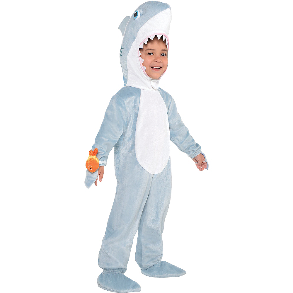 Toddler Boys Shark Costume Image #1