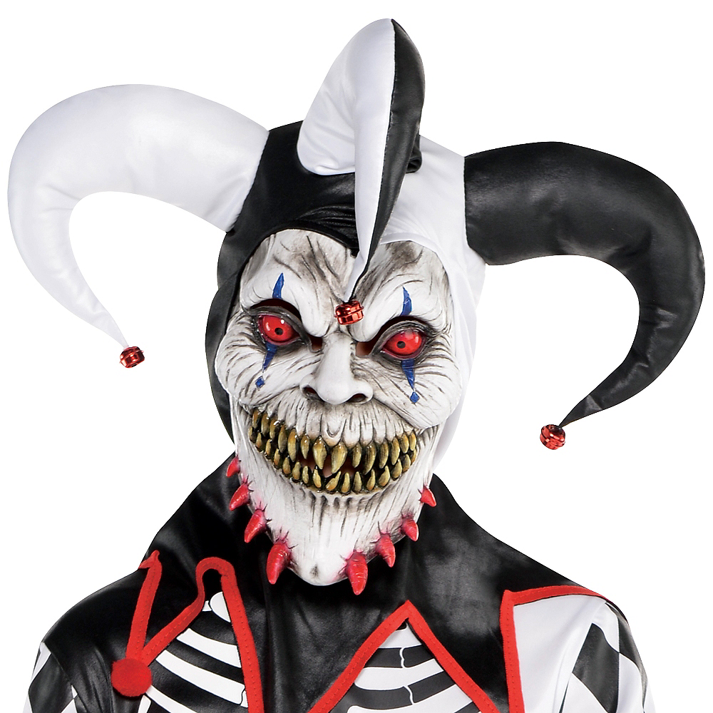 Nav Item for Boys Sinister Jester Costume Image #2