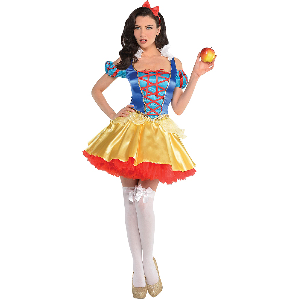 Nav Item for Adult Snow White Costume Image #1