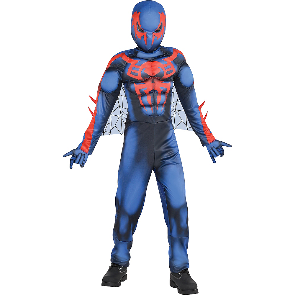 Nav Item for Boys Spider-Man 2099 Muscle Costume Image #1