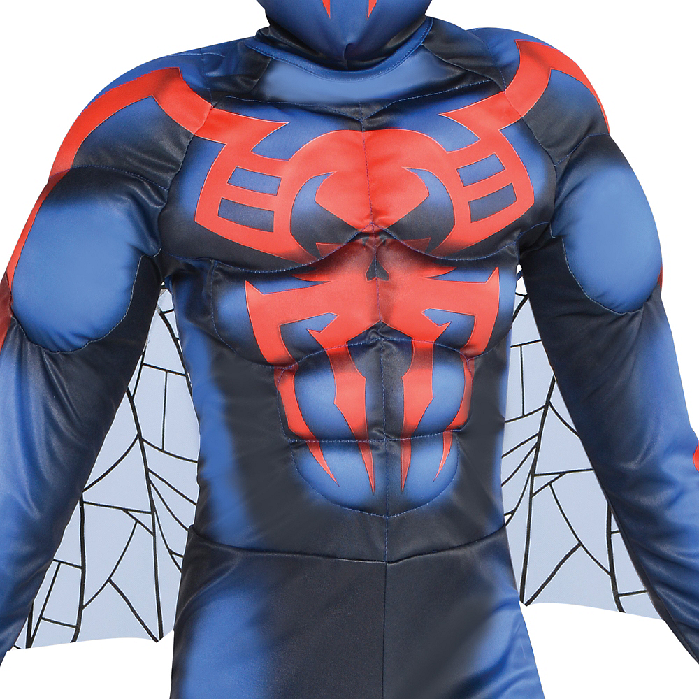 Boys Spider-Man 2099 Muscle Costume Image #2