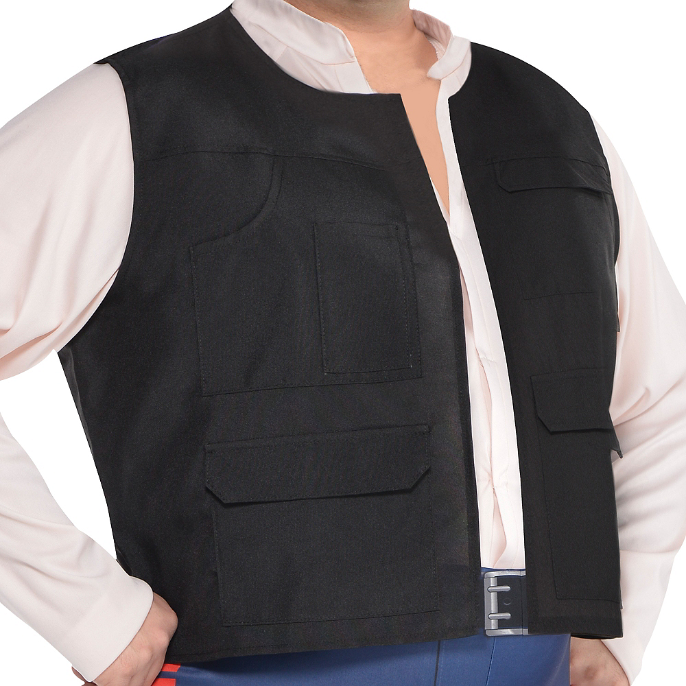 Adult Han Solo Costume Plus Size - Star Wars Image #2
