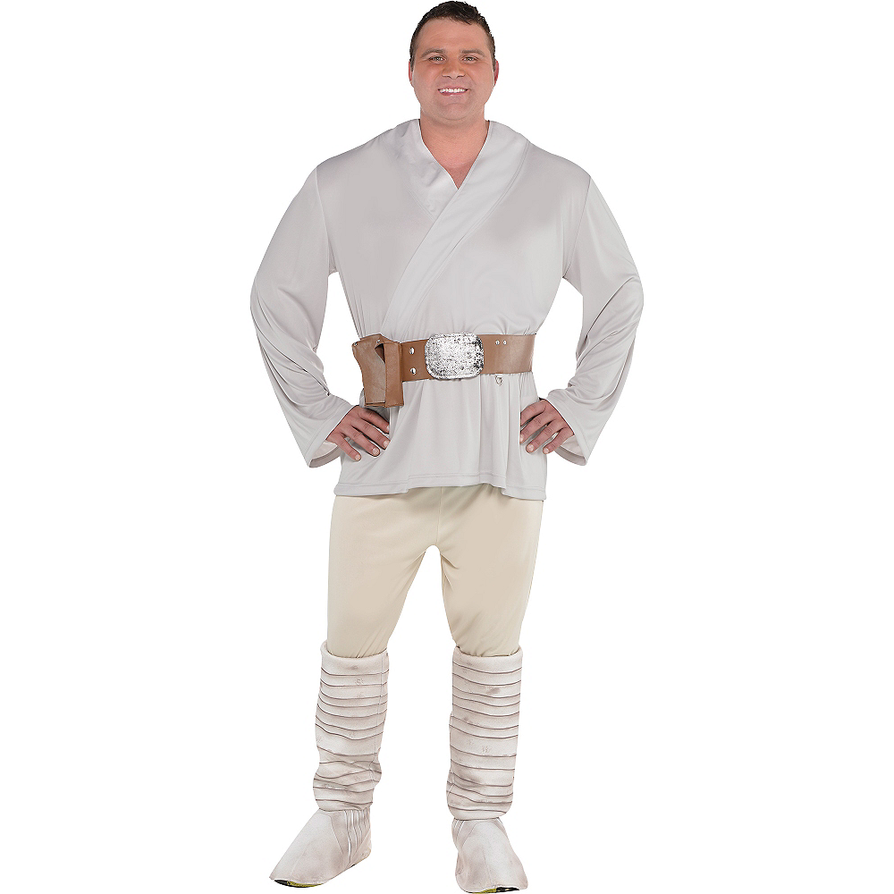 Adult Luke Skywalker Costume Plus Size - Star Wars Image #1